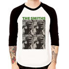 The Smiths-meat is murder rock band Baseball t-shirt 3/4 sleeve Raglan