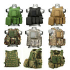 US Warehouse Molle Combat Game Vest Outdoor Plate Activities Vest Tactical Vests