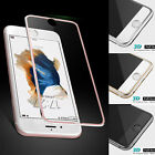 Metal Full Tempered Glass Screen Protector 3D Cover Film For iPhone 7 6 6s Plus