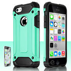 For Apple iPhone 5C Shockproof Silicone Rubber Armor Slim Protective Case Cover