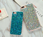 Cute Fashion Bling Glitter Soft Silicone Case Cover for iPhone 5SE 6 6S 7 8 Plus