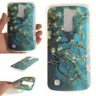 Patterned Ultra Slim Rubber Soft TPU Silicone Back Case Cover For LG Phone