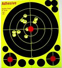 "50 Pack 8"" Shooting Targets Reactive Splatter Shot Gun Rifle Range Paper Target"