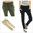 New Women Full Length Casual Harem Pants Skinny Trousers Leggings UK SIZE 6-14