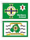5' x 3' FLAG Northern Ireland Football Association Irish Red Hand Ulster Flags