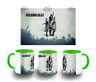 TAZZA VERDE THE WALKING DEAD ZOMBIES ZOMBIE MUG taza tasse ITALY