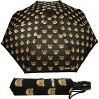 Umbrella MOSCHINO Automatic closure Black with toys bear 8085 Gift