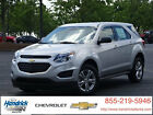 Chevrolet: Equinox FWD 4dr LS FWD 4dr LS New SUV Automatic Silver Ice Metallic