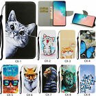 New Magnetic Flip Pattern Stand PU Leather Card Pocket Cover Case For Lot Phone