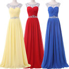 New Backless Maxi Long Bridesmaids Ball Gown Evening Prom Festival Dress AU 6~20