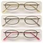 A62 Superb Quality Optical Reading Glasses/Spring Hinges/Classic Style Design