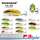 Lurefans CC-50 Cunning-Cub 7.5g Crankbait Lure - Free Postage On Extra Lures!