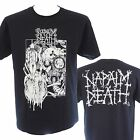 NAPALM DEATH - OLD LOGO - Official Licensed T-Shirt - Death Metal - New 2XL ONLY