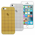 For Apple iPhone 5 5S Luxury Slim Fit TPU Back Case Cover Skin 360' Protection