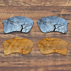 T.A.N Replacement Lenses for-Oakley Flak Jacket XLJ - Multiple Pack Options