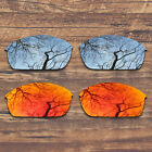 T.A.N Polarized Replacement Lens for-Oakley Flak Jacket - Multiple Pack Options