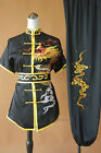 Unisex Silk Embroidery Changquan Tai chi Suit Kung fu Wushu Competition Uniform