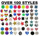 self adhesive nipple covers breast pasties festival fancy dress red back heart