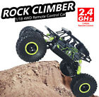 Electric RC Car 1:18 4WD Off Road High Speed Fast Remote Control 2.4GHZ RTR Car