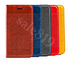 PU Leather Fashion Wallet Card Magnetic Case Cover Skin For iPhone/Samsung