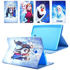 """Frozen Cartoon Kids Leather Stand Case Cover For Samsung Galaxy Tab E 9.6"""" T560"""