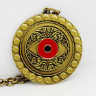 Doctor Strange Pendant Necklace Key Chain Men Antique For Boyfriend 2 Color