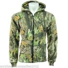 MENS COUNTRY CAMOUFLAGE ZIP HOODIE S - 5XL STORMKLOTH CAMO FLEECE LINED HUNTING