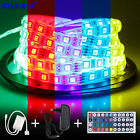 5M 5050 RGB 300 Led SMD Flexible Light Strip Lamp/44 key IR /12V 3A Power Supply