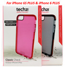 Tech21 Advanced Impact Classic Check Case Cover For Apple iPhone 6 Plus 6S Plus