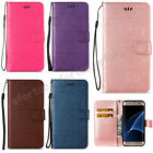 Fashion Style Flip Magnetic Stand Wallet PU Leather Cover Case For Samsung LDDX