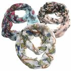 Infinity Scarf Top Fashionland Premium Soft Animal Print Sheer Infinity Scarf