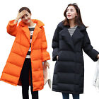 Winter Women's Trench Thicken Duck Down Warm Coat Jacket Collared Parka 3 Color
