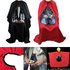 Hair Cutting Salon Barber Cape with Window Phone Viewing Apron Stylist Gown