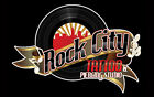 Rock City Tattoo & Piercing sign.  Tin Plaque. great for Man-Caves Bedrooms etc