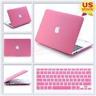 "2in1 Quicksand Pink Matte Hard Case for MacBook Retina Pro 13"" Air 11""/13""inch"