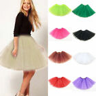 Women New 3 Layer Luxury Dancewear Tutu Ballet Pettiskirt Princess Fluffy Dress