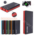 500000mAh 4 USB Backup External Battery Power Bank Pack Charger for Cell Phone