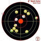 "75 Pack SHOOTING TARGETS Glow Shot Reactive Splatter Gun & Rifle 8"" Paper TargetTargets - 73978"
