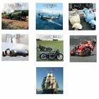 VERY High Quality 2018   Square Wall Calendars: TRAINS BOATS PLANES CARS BIKES