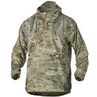 HELIKON WINDRUNNER FEATHER-LIGHT PARA SILK STYLE WINDSHIRT IN MILITARY, TABBING