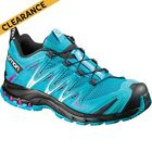 Salomon XA PRO 3D Trail Shoe - Womens, Blu/Blk/Dalhi, 075