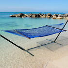 Caribbean Rope Hammock - 55 Inch - Soft-Spun Polyester -Stand not included