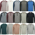 New Mens Tokyo Laundry Branded Soft Jersey Long Sleeve Tops T-Shirts Size S-XL