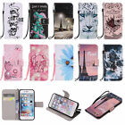 Colours PU Leather Pattern Wallet Cases Cover for iPhone 6 6S 7 S Plus LG