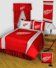 Detroit Red Wings Bed in a Bag Twin Full Queen King Size Comforter Set