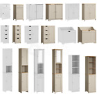 Priano Bathroom Cabinet Door Drawer Wall Mounted Storage Free Standing Units
