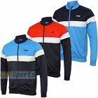 Fila Mens Lecce Vintage Full Zip Tracksuit Top Classic Retro Sports Track Jacket
