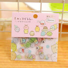 80pcs/lot DIY Cute Kawaii Transparent PVC Stickers Lovely Rilakkuma Sticker Pack