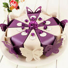 50X Butterfly Favor Gift Candy Boxes Cake Style Wedding Party Baby Shower B234B