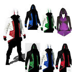 Stylish Creed Hoodie Men's Cosplay For Assassins Jacket Coat Costume Asian S-3XL